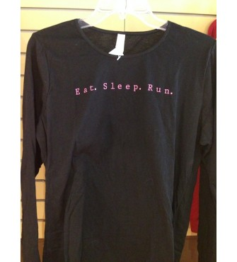eat. sleep. run. long sleeve