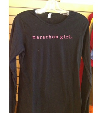 Marathon girl long sleeve