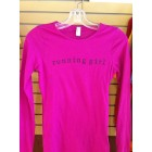 running girl long sleeve