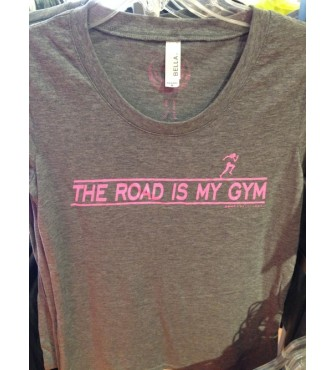 the road is my gym